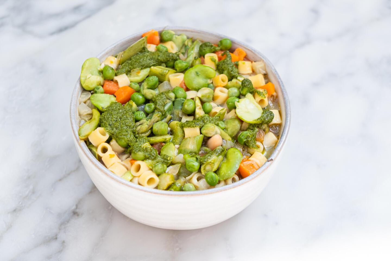 SPring Vegetable Minestrone Coastal Soups