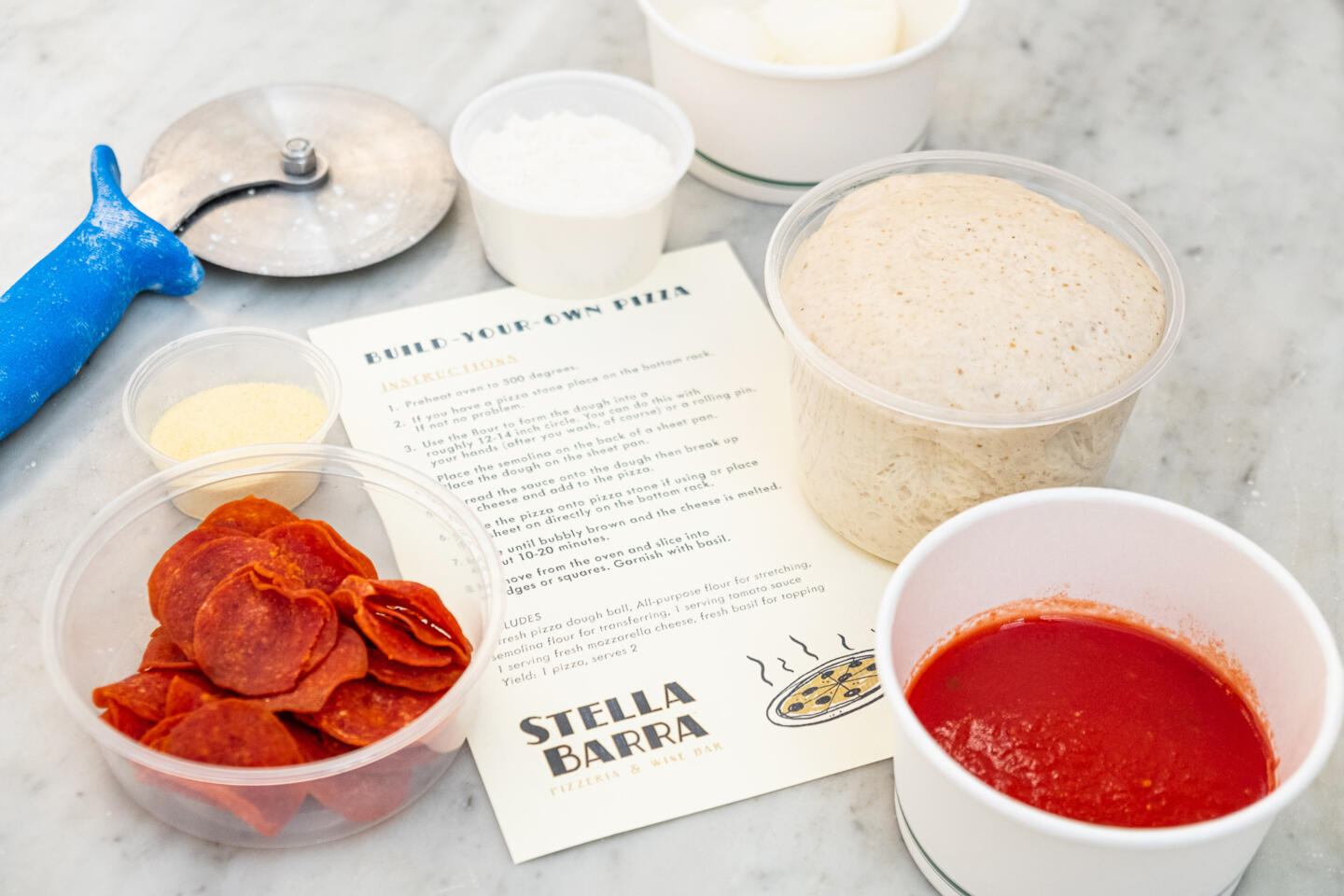 Stella Barra Pizza Kit