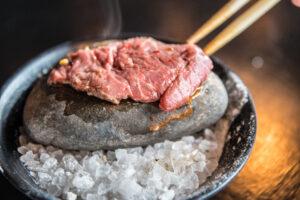Filet Mignon Hot Rock at Tokio Pub