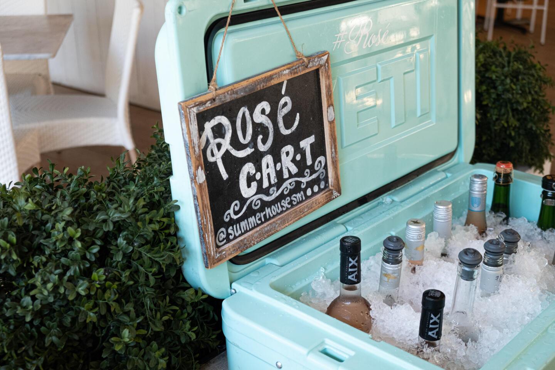 Rose Cart at Summer House Santa Monica