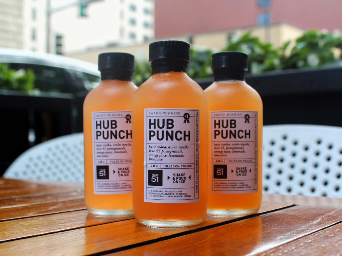 Hub 51 cocktails to go