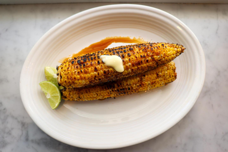 Summer House Santa Monica grilled Summer Corn