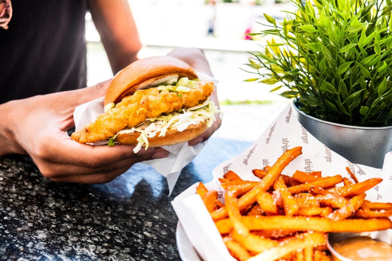 stripburger chicken sandwich