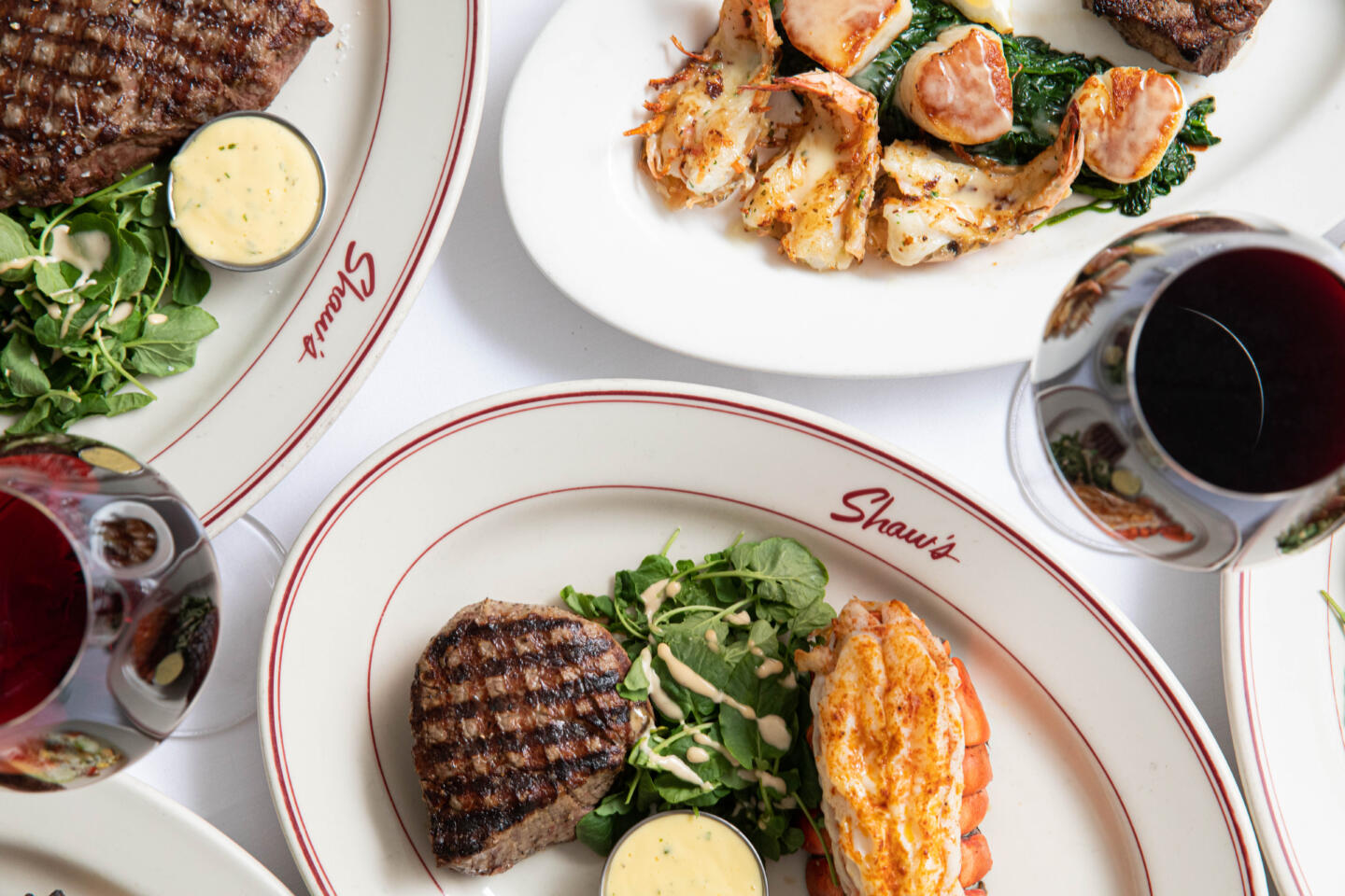 Shaw's steak and seafood