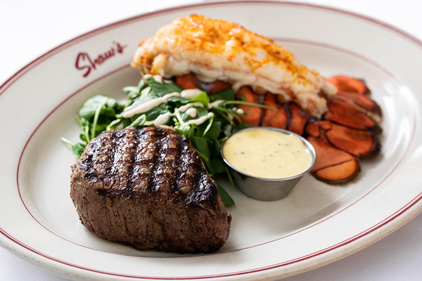 Shaw's lobster and filet