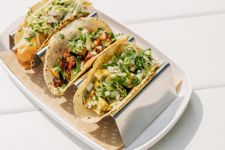 Tallboy Taco combo of tacos