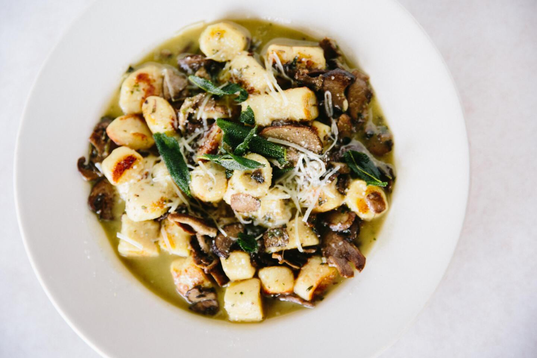 Mushroom Gnocchi from Antico Posto