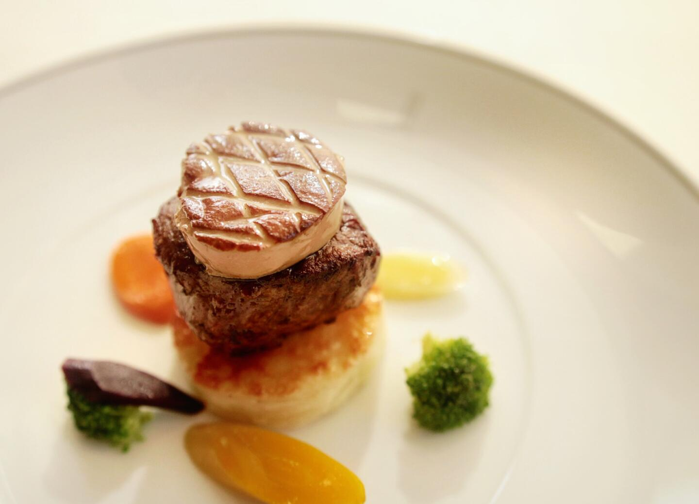 Everest At Home filet and foie