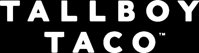 The logo of Tallboy Taco®