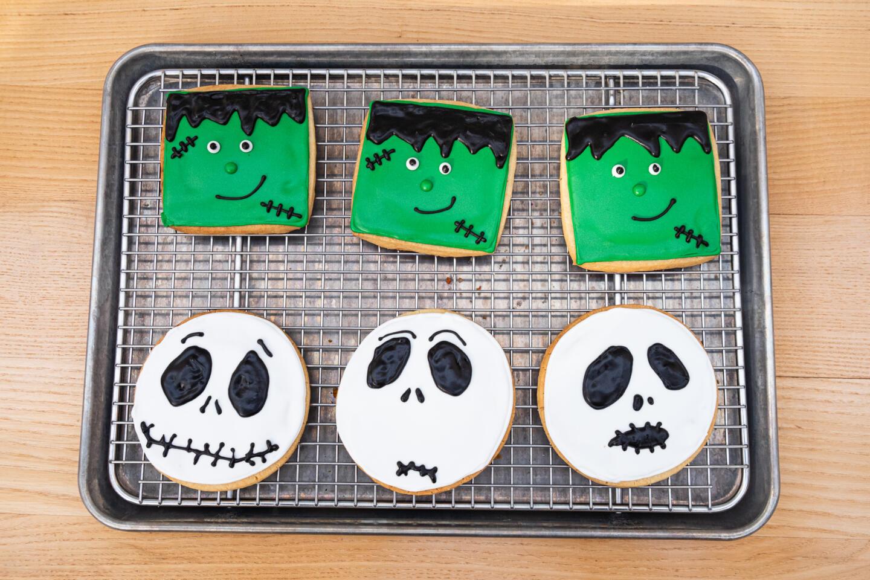 Summer House Santa Monica Halloween Cookies