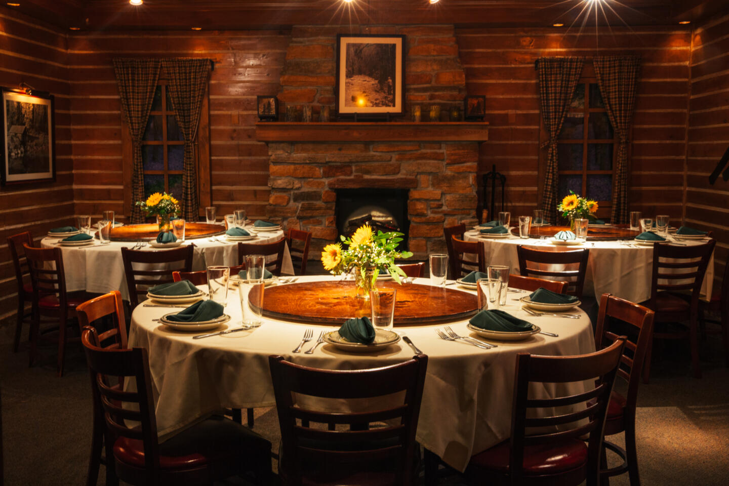 L Woods Private Dining Room