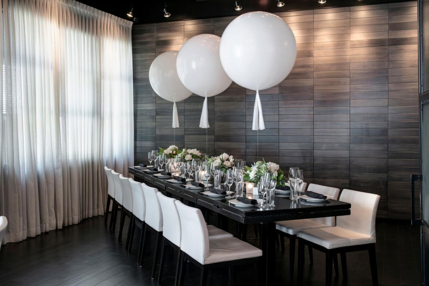 RPM Italian Private dining room Chicago