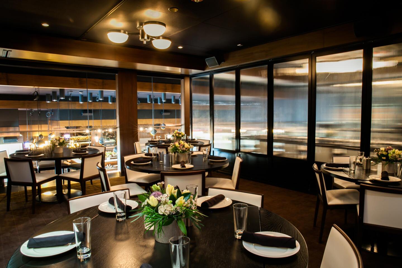 RPM Steak Priviate dining space