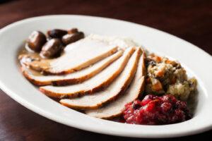 Wildfire Spit-Roasted Turkey Dinner