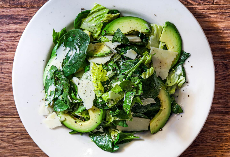 Spinach and AVocado salad antico posto