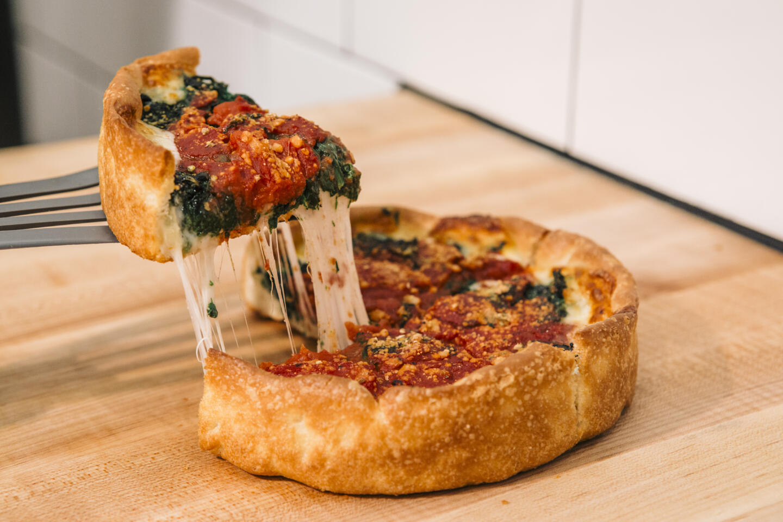 Photo of Deep Dish Pizza