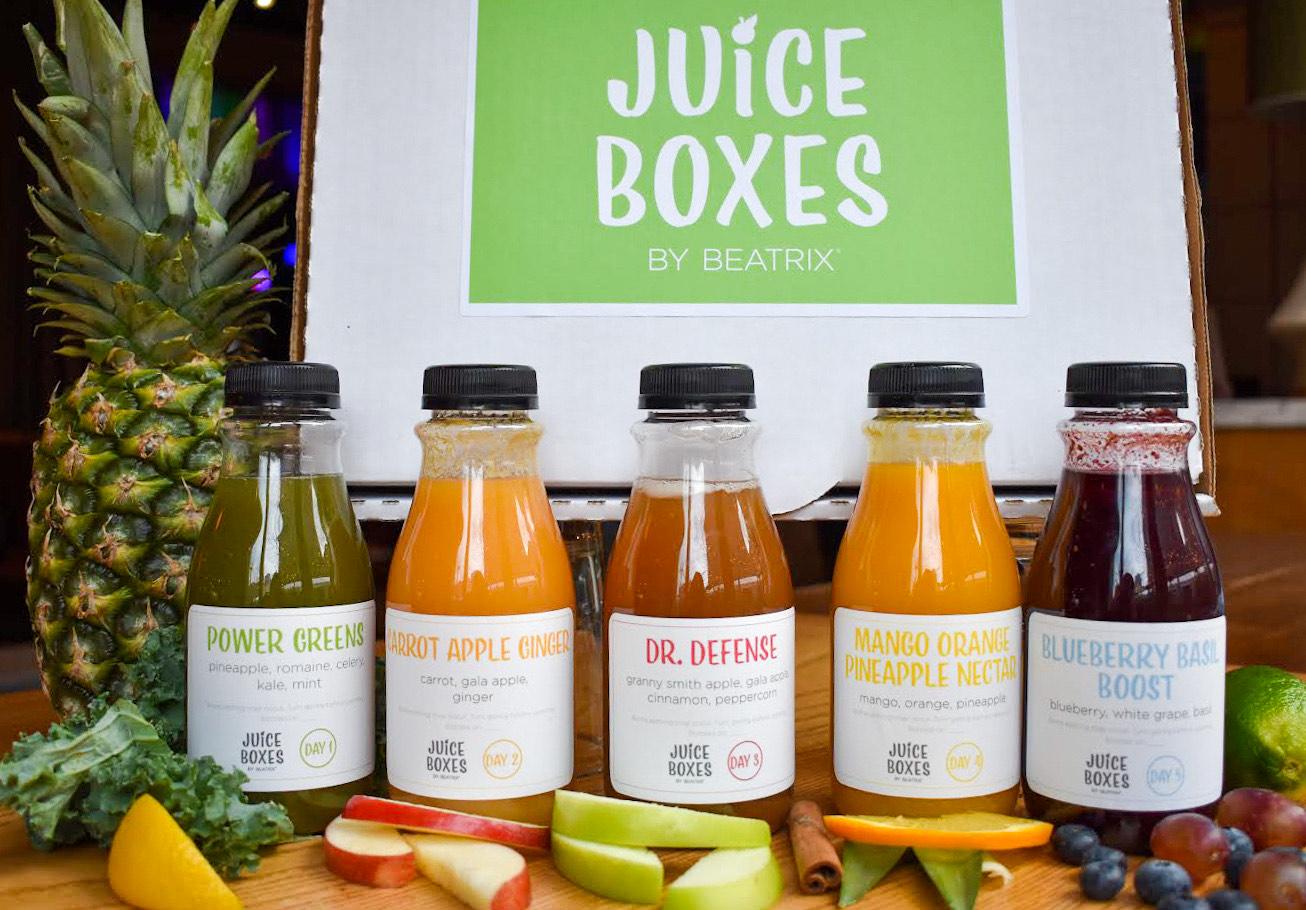 Juice Boxes by Beatrix