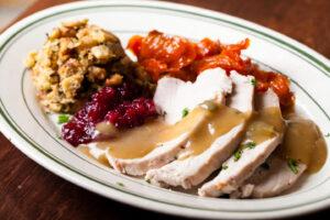 L. Woods Turkey Dinner