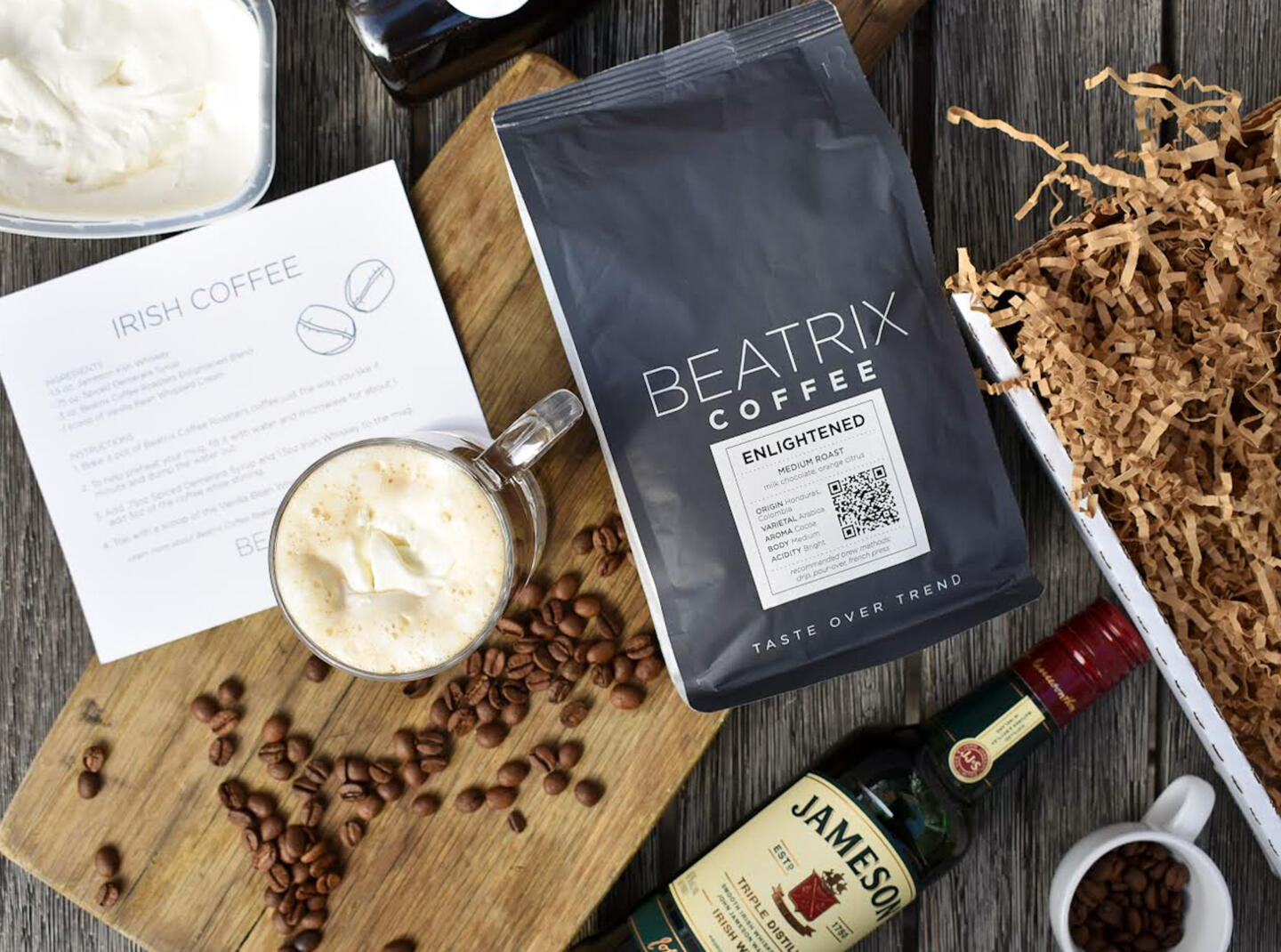 Beatrix Irish Coffee Kit