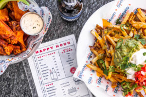 Stripburger Happy Hour dishes