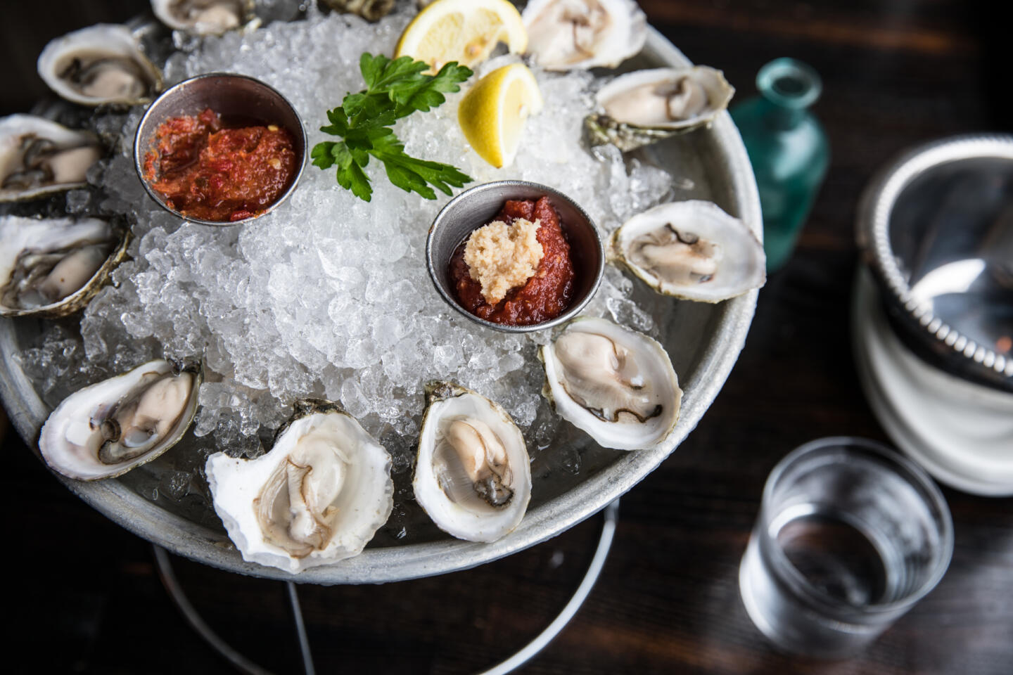 quality crab oysters