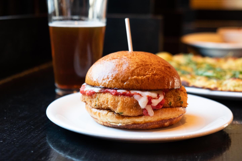 Chicken Sandwich from Summer House Stella Barra