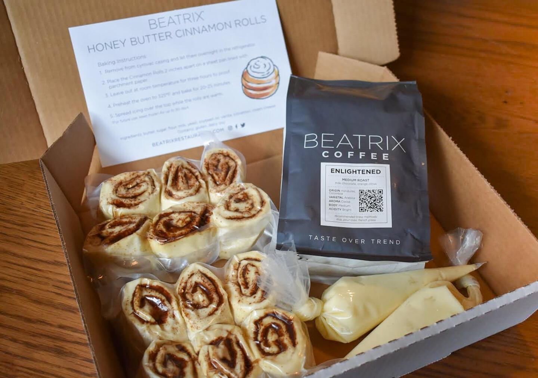 Beatrix cinnamon roll kit