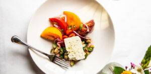 Tomato & Corsican Feta at Mon Ami Gabi