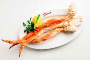 King Crab Legs at Shaw's