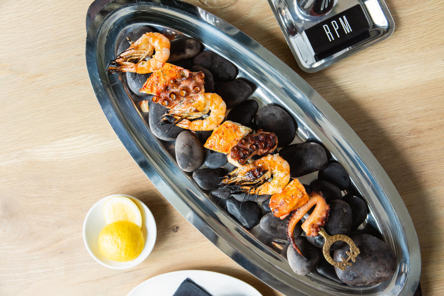 Mixed Grill at RPM Seafood