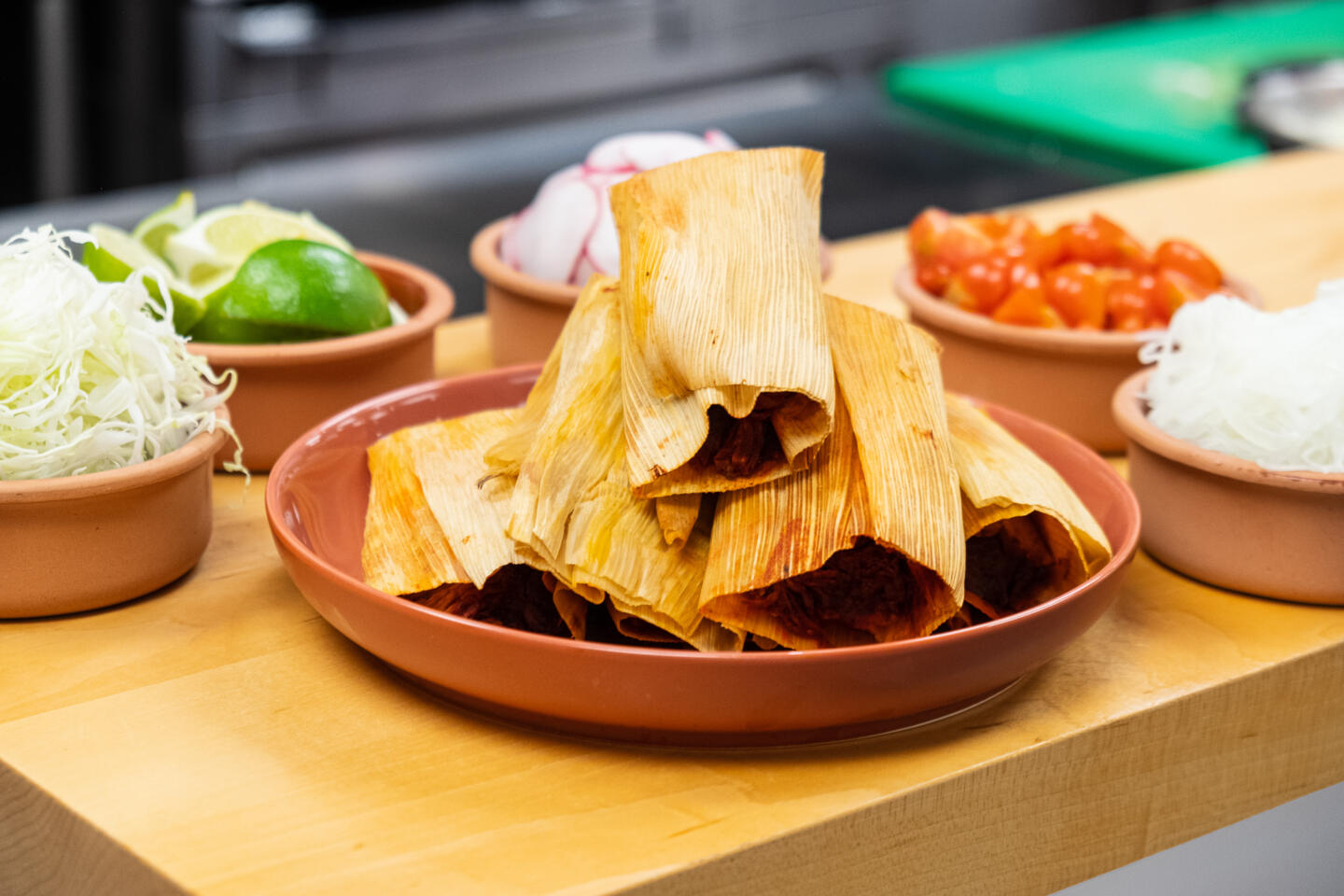 Tamales from Chef Ozzie