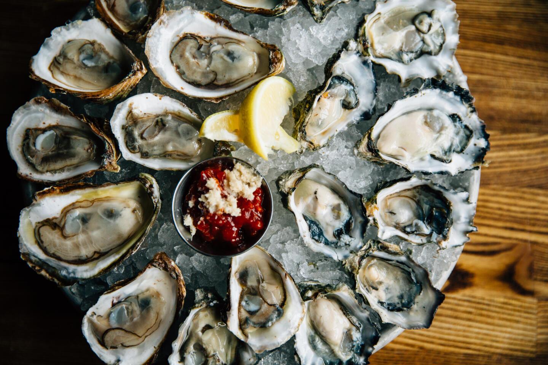 Quality Crab oyster sampler