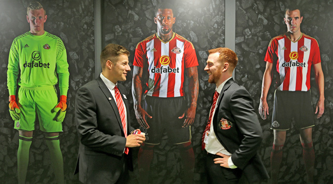 Sunderland players meet ahead of their clash with Middlesbrough