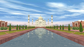Taj Mahal English