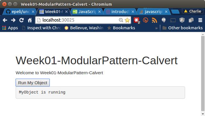 Module Pattern Basics