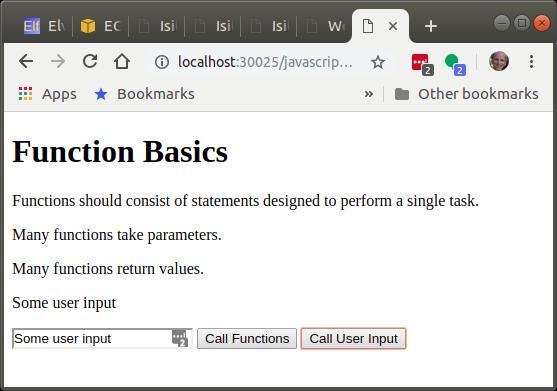 Function bascis UI
