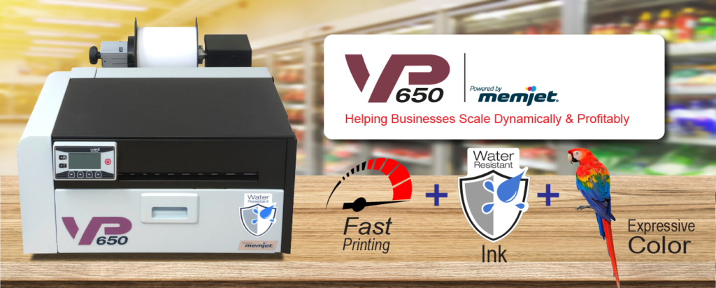 VP650 the ultimate printer in both price and performance