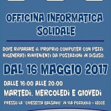 Officina Informatica Solidale: si parte!