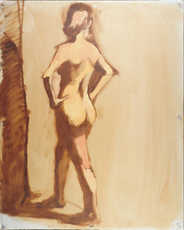 Gallery thumb j.grisaille figure study to the side