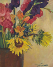 Gallery thumb 4.sunflower with glads.tkaman