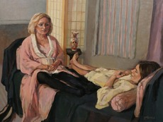 Gallery thumb tricia kaman conversations with mary and sarah oil 40 x 30