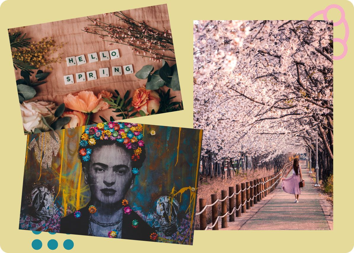 Mood Board For Spring