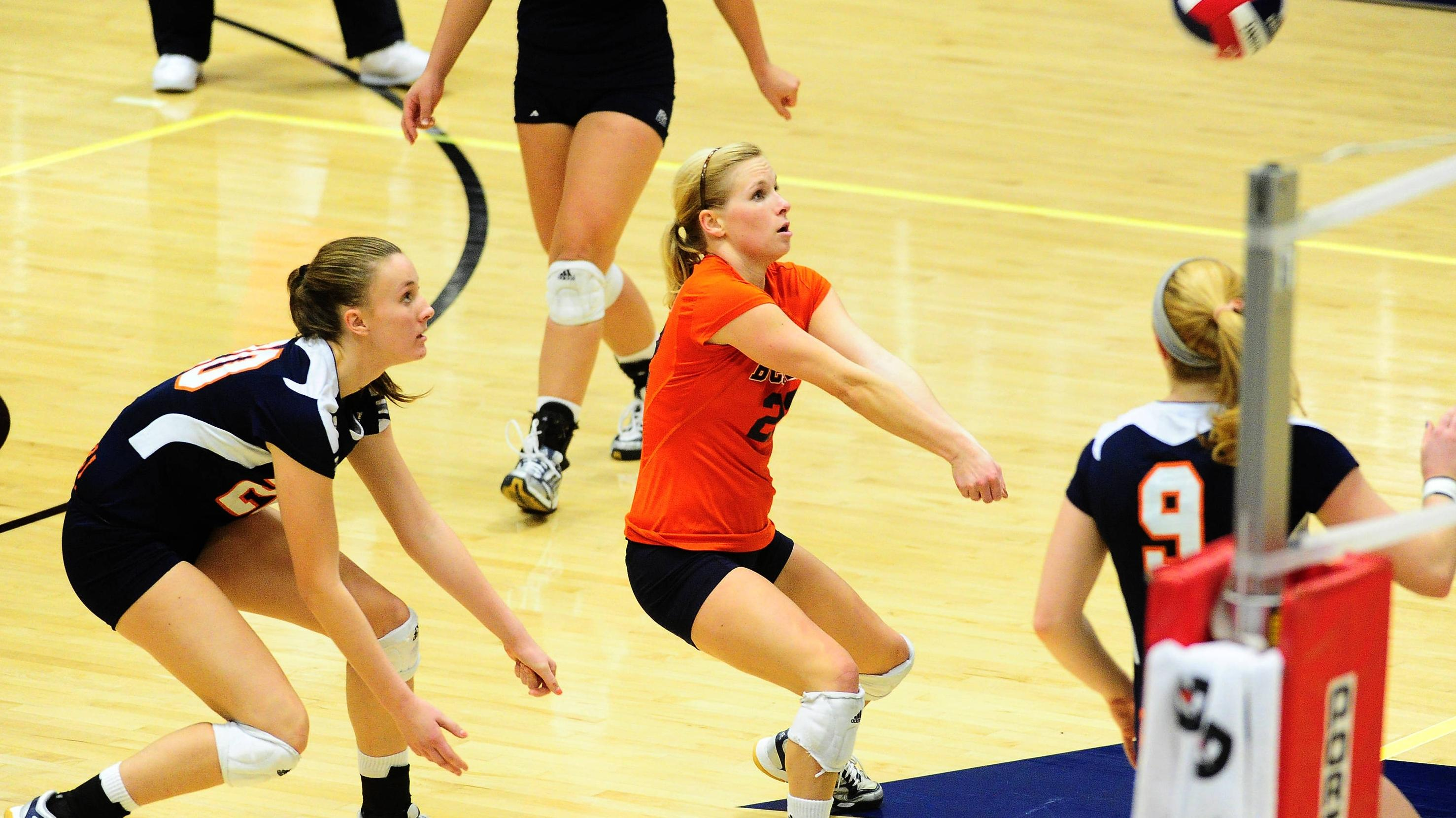 Volleyball Travels To Columbia Invitational This Weekend Bucknell