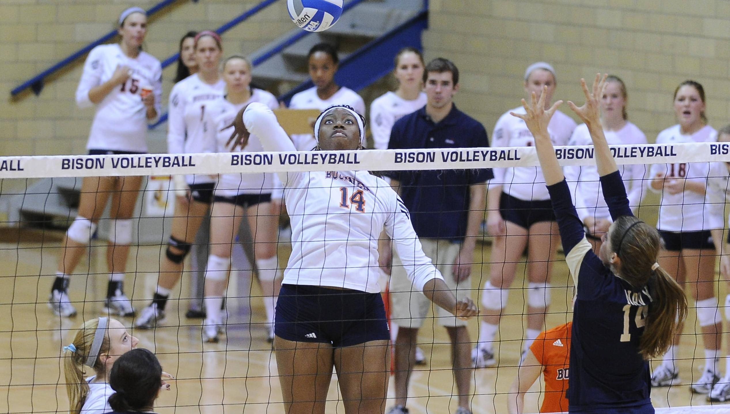 Volleyball Topped Twice At Columbia Invitational Bucknell