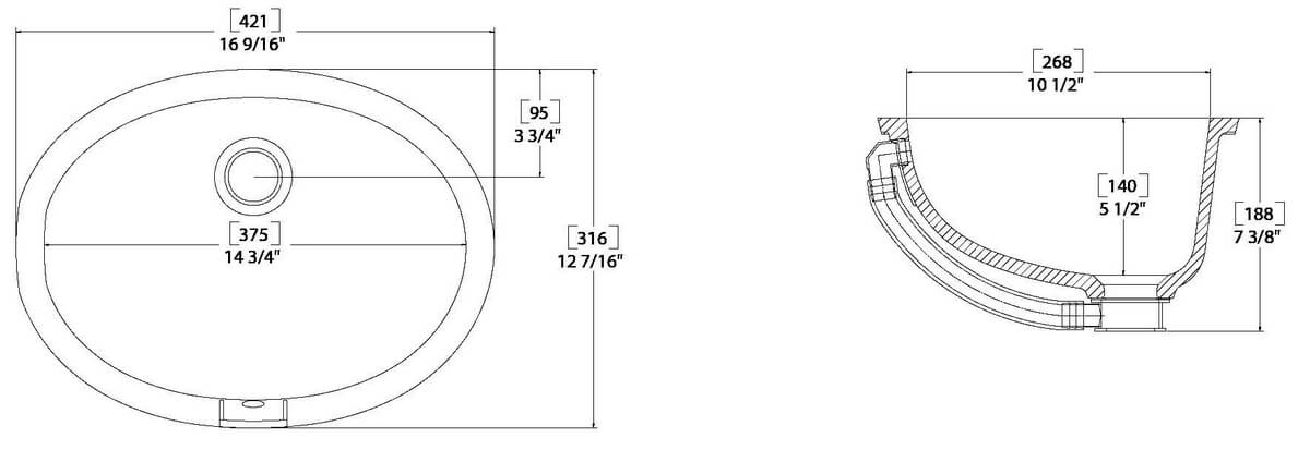 Sink Drain Dimensioned Drawings – Home Exsplore
