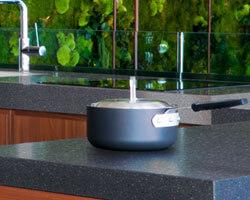 LG HI-MACS - Graphite Granite