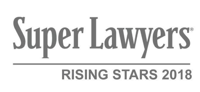 Super Lawyers – Rising Stars of 2018