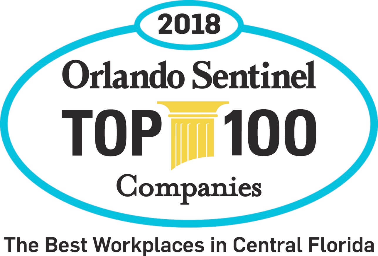 AriasBosinger Selected 16th of the Orlando Sentinel's 2018 Top 100 Best Workplaces