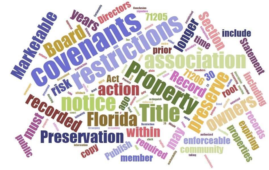 New Statutes Bring Streamlined Methods to Preserve Association Governing Documents