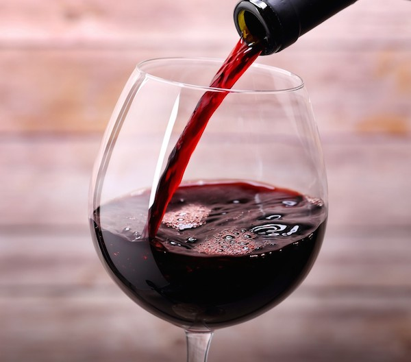 Red wine and biofilm